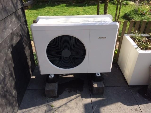 Warmtepomp-loodgietersbedrijfs slootweg