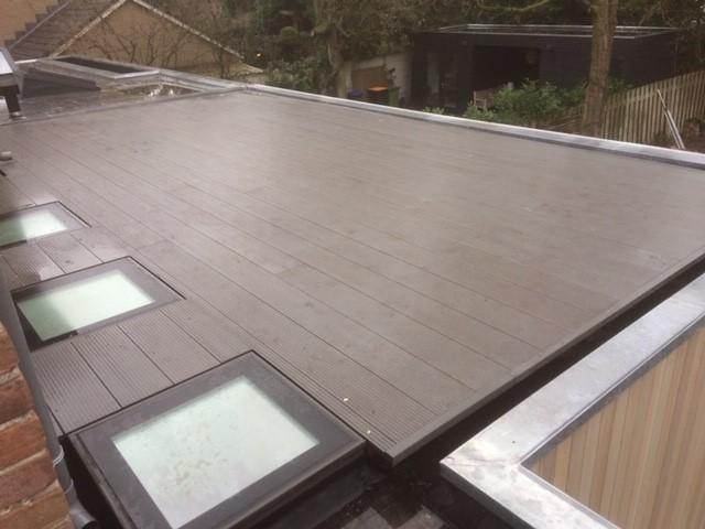 dak met lichtkoepel-slootweg loodgieter