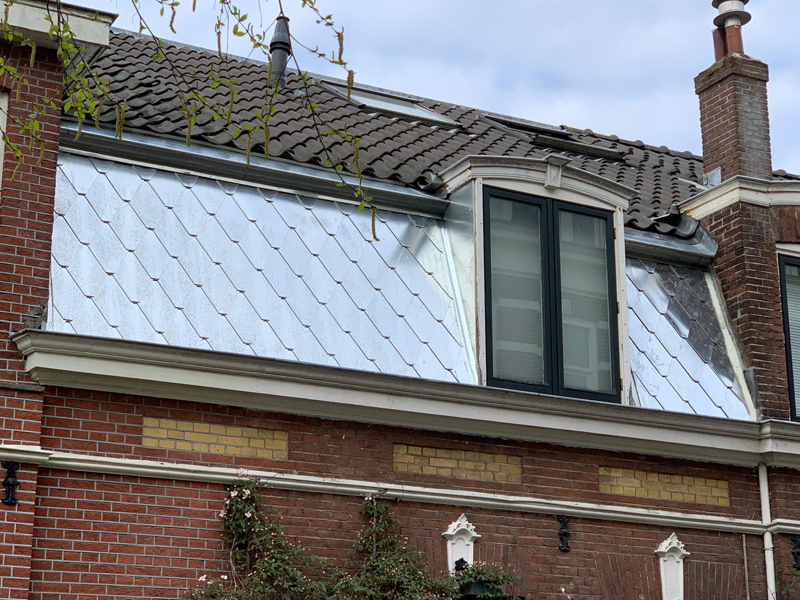 zink op dak loodgieter slootweg
